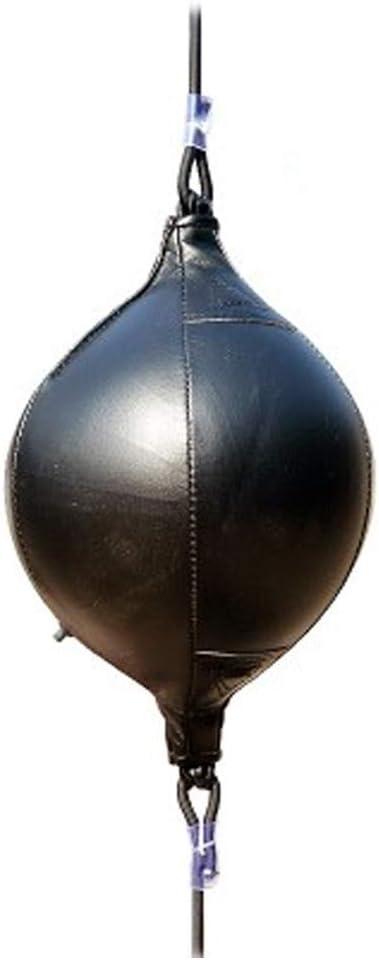 Boxeo Bola Profesional Correa El/ástica Velocidad Ejercer Punch Anti-explosiones Colgante Resistente Poliuretano Anti-wear Reacci/ón Entrenamiento de Deportes Suministros Negro + Rojo