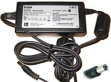 original-kodak-hpa-432418a0-24vdc-18a-ac-adapter-for-easyshare-dock-printer