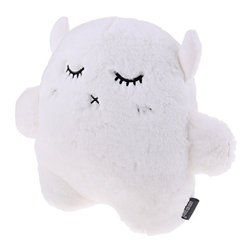 Baoblaze Bunny Plush Rabbit Cushion Plush Stuffed Throw Cushion Toy Doll Decor Home - White, Devil