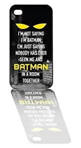 LYYF New Fashion Cool High Quality I'm Not Saying I'm Batman Hard Case/For Ipod Touch 5 Phone Case Cover