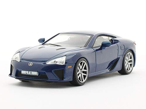 Lexus LFA Blue 2010 Year Luxury Japanese Sports Car 1/43 Collectible Model Vehicle Toy