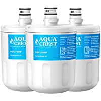 AQUACREST LT500P Replacement Refrigerator Water Filter, Compatible with LG 5231JA2002A, LT500P, ADQ72910901, ADQ72910907, Kenmore 9890, 46-9890, 469890 (Pack of 3)