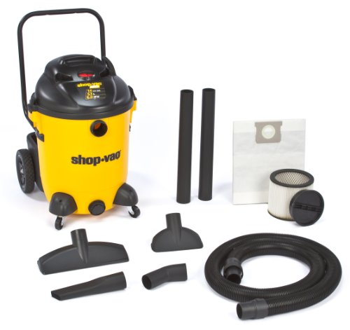 Shop Vac 9651400 6 0 Peak Hp Pro Series Wet Or Dry Vacuum With Vacuum Cart 14 Gallon Wet Dry