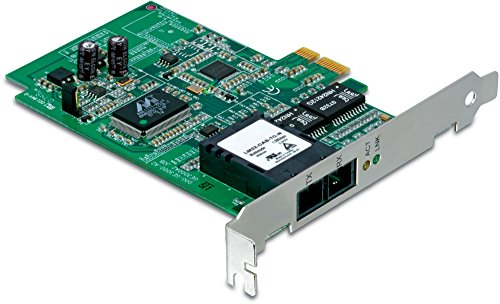 TRENDnet SC-Type Fiber PCIe Adapter, Convert a PCIe Slot into an SC-Type Multi-Mode Fiber Port, Supports VLAN Tagging & Layer 2 Priority Tagging, - Sc Type Fiber