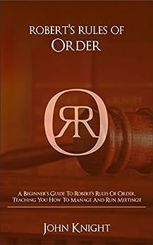 robert s rules of order agenda format