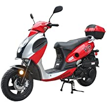 TaoTao POWERMAX-150 Gas Street Legal Scooter - Red
