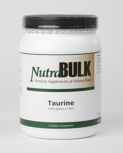 NutraBulk Premium Taurine Powder - 1,000 Grams (1 Kilogram)