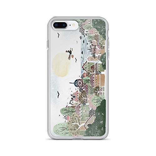 (iPhone 7 Plus/iPhone 8 Plus Case Clear Anti-Scratch Just Another Delivery, Miyazaki Cover Phone Cases for iPhone 7 Plus iPhone 8)