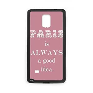 Audrey Hepburn Quotes Custom Cover Case for Samsung Galaxy Note 4,diy phone case ygtg-781088