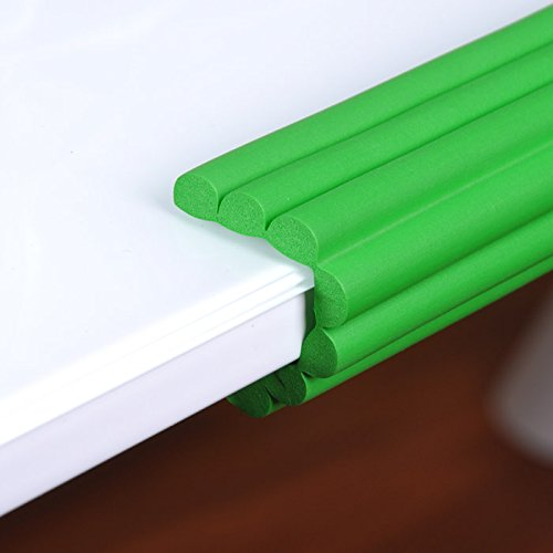 Green Child Safety Products Baby Crash Bar Baby Thickening Crash Bar Glass Coffee Table Child Protection Strip