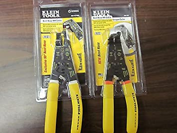 2 ~ NEW KLEIN TOOLS BENT NOSE NM CABLE STRIPPER CUTTER K90 10/2 ...