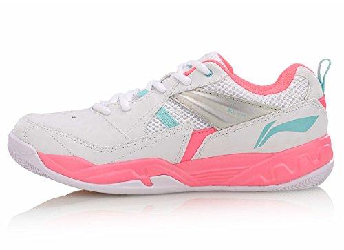 LI-NING Women Lightweight Badminton Shoes Lining Breathable Wearable Cushioning Sneakers AYTM072