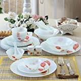 Laopala Melody Dinner Set 27 PCS (Scarlet Duet)