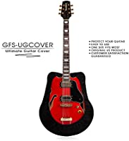 Tenor gfs-ugcover Ultimate guitarra de pantalla, guitarra, Guitarra Gig Bag, Funda protectora para acústica, Clásica, Flamenco, arco superior y Cutaway Guitarra, Negro Color de terciopelo. Tailor hecho a mano.: Amazon.es: Instrumentos musicales