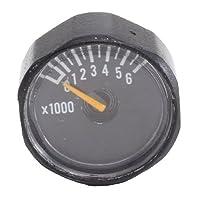 Piezas del regulador de indicador estándar Ninja 6000psi NEGRO