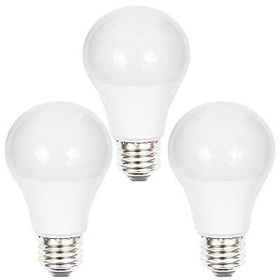 Goldwin 3 Pcs Pack Smart WiFi Control Multicolor LED Light Bulb,60W Equivalent,No Hub Required,Compatible with Amazon Alexa and Google Assistance Dimmable E26 Edison Base Bulb
