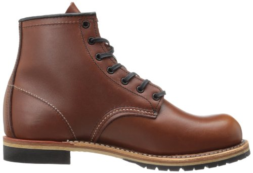 Red Wing Mens Beckman Round 9016 Leather Boots, Cigar, UK12 EU46 US13