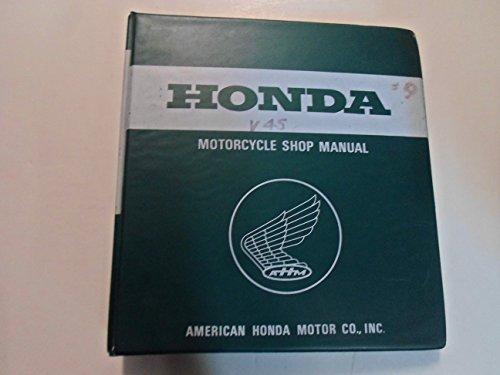 1982 1983 Honda V45 Sabre Magna VF750 S C Shop Repair Manual BINDER MINOR - V45 Sabre Magna