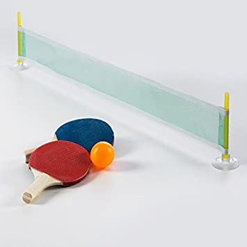 Pack de juego de ping pong de mesa – Mini ping pong de mesa ...
