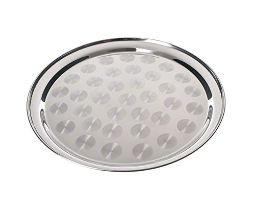 Pinch TRYS-12 Round Stainless Steel Serving Tray, 12-Inch