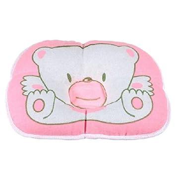 Amazon.com: Dfunlife bebé almohada de algodón oso prevenir ...
