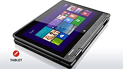 2016 Latest Lenovo Flagship ThinkPad Yoga 2-in-1 Convertible 11.6-inch IPS Touchscreen Laptop (Tablet), Intel Quad Core Processor, 4GB DDR3, 120GB SSD, HDMI, Bluetooth, Webcam, WiFi, Windows 10
