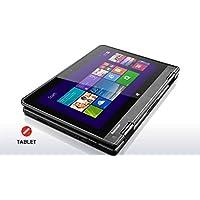 2016 Latest Lenovo Flagship ThinkPad Yoga 2-in-1 Convertible 11.6-inch IPS Touchscreen Laptop (Tablet), Intel Quad Core Processor, 4GB DDR3, 120GB SSD, HDMI, Bluetooth, Webcam, WiFi, Windows 10