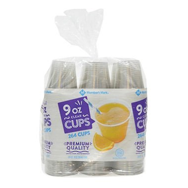 Daily Chef Clear Plastic 9oz Cups (200CT)
