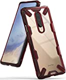 Ringke Fusion-X Designed for OnePlus 7 Pro Case Impact Resistant Protection Cover for OnePlus 7 Pro 5G (6.7') - Ruby Red