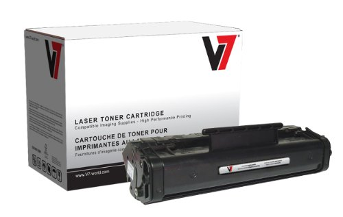 - V7 V706A Remanufactured Toner Cartridge for HP C3906A (HP 06A) - 2500 Page Yield