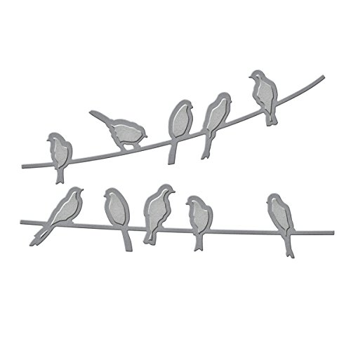 Spellbinders IN-024 Shapeabilities In'spire Birds on A Wire Etched/Wafer Thin Dies -