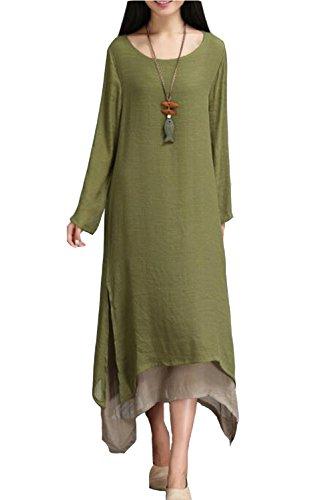 トランスペアレントエジプト子供っぽいJINTING DRESS US サイズ: 2XL カラー: グリーン