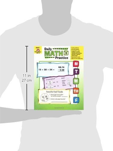 Amazon.com: Daily Math Practice, Grade 3 (0433599268856): Evan ...