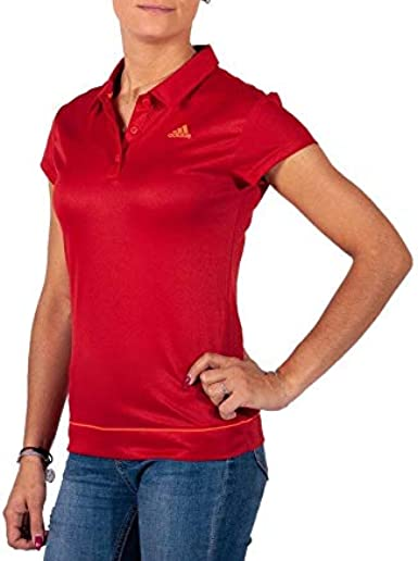 adidas Galaxy Polo para Mujer, Color Rojo Rojo Rosso XS: Amazon.es ...