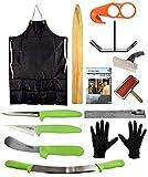 AuSable Brand All-in-One Deluxe Fleshing Beam Fur Handling Kit - Huge Savings (6x60 Fleshing Beam Kit)