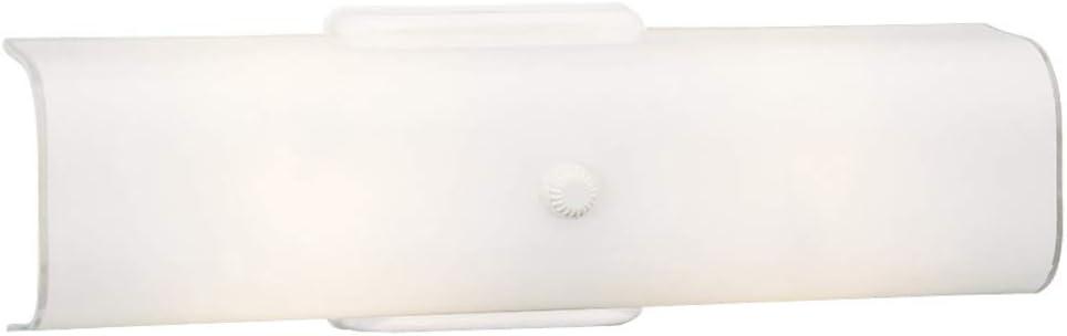 Design House 501452 2 Light Wall Light, White