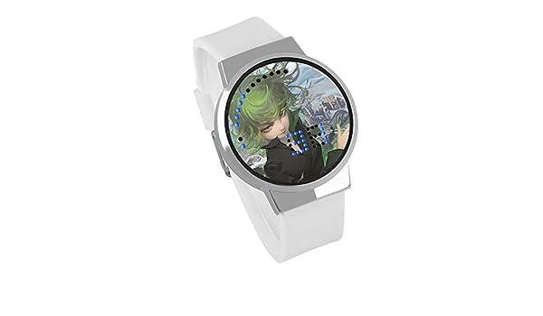 Reloj para Niños,Reloj LED Creativo con Pantalla Táctil DIY ...
