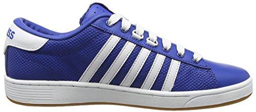 K-Swiss Hoke EQ CMF - Zapatillas Hombre Azul - Blau (Classic Blue/White/Dark Gum)