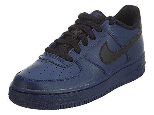 synthetik synthetik Binaire Faible Chaussure Enfants 1 1 1 Dessus bleu Force Unisexe 314192 Air Gs Nike Noir Bleu wqgI66
