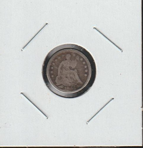 1855 Liberty Seated (1837-1873) Half Dime Very Good