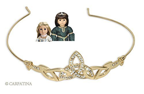 Merida Tiara (Celtic Tiara for 18 inch Carpatina, American Girl or AGFAT dolls)