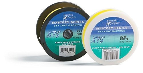 Scientific Anglers XTS GEL SPUN Fly Line Backing, 30 lb Test, YELLOW - 100, 150, 200, 250, 300, 400, 500 up to 3000 yds (150 yds) (200 yds)