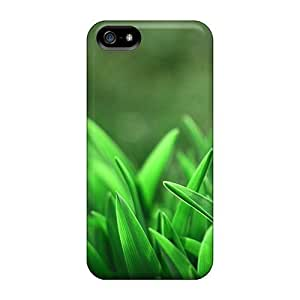 Case Cover, Fashionable Iphone 5/5s Case - Leaves Closeups by runtopwell