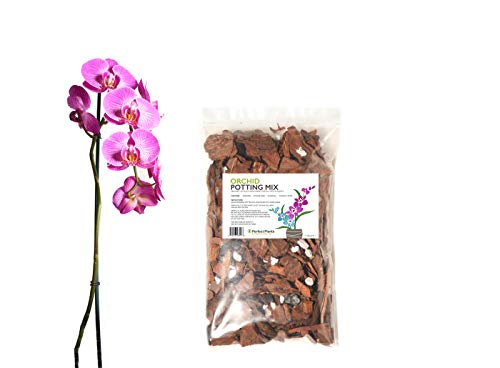 Organic Orchid Potting Mix by Perfect Plants - 1 Quart Special Blend for Proper Root Development on All Orchid Plant Types ()