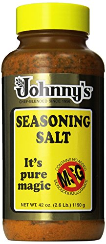 Johnny's Seasoning Salt, No Msg, 42 Ounce