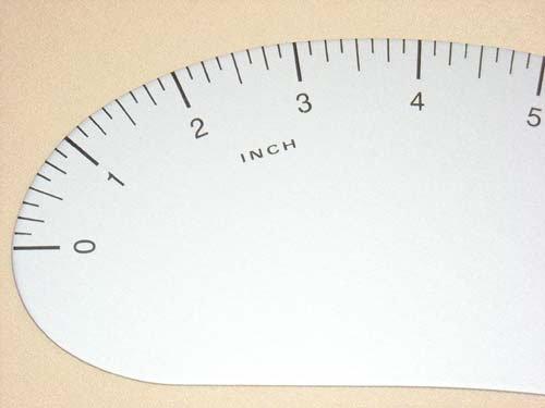 Lance French Curve Ruler 24 Vogue' s Supplier LANC1013 AV-FC024