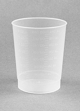 Medegen Intake Measuring Containers, Polypropylene, 500/cs 02068A