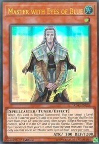 Yu-Gi-Oh! Master with Eyes of Blue - LCKC-EN014 - Ultra Rare - 1st Edition - Legendary Collection Kaiba Mega Pack (1st Edition)
