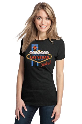 WELCOME TO LAS VEGAS, BABY! Ladies' T-shirt / Sin City What Happens Tee