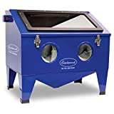 Eastwood 28 in. X 18 in. X 12 in. Modular Blast Cabinet Bench Top Abrasive Blast Electrical Cabinet Glass Viewing Windows